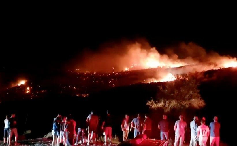 Locul prăbuşirii obiectului zburător neidentificat în Cipru de Nord, 1 iulie 2019
