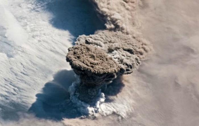 Imaginea capturată de astronauţii de la bordul Staţiei Spaţiale Internaţionale