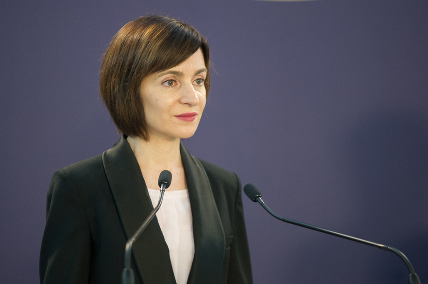 Maia Sandu (Prim-minstru R. Moldova),