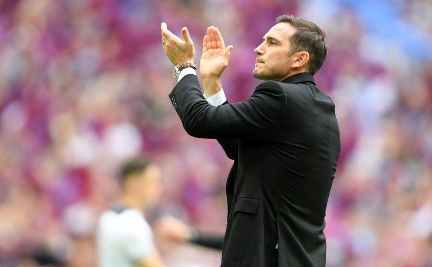 Antrenoul grupării londoneze FC Chelsea, Frank Lampard.