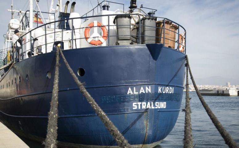 Nava Alan Kurdi operată de ONG-ul german Sea-Eye