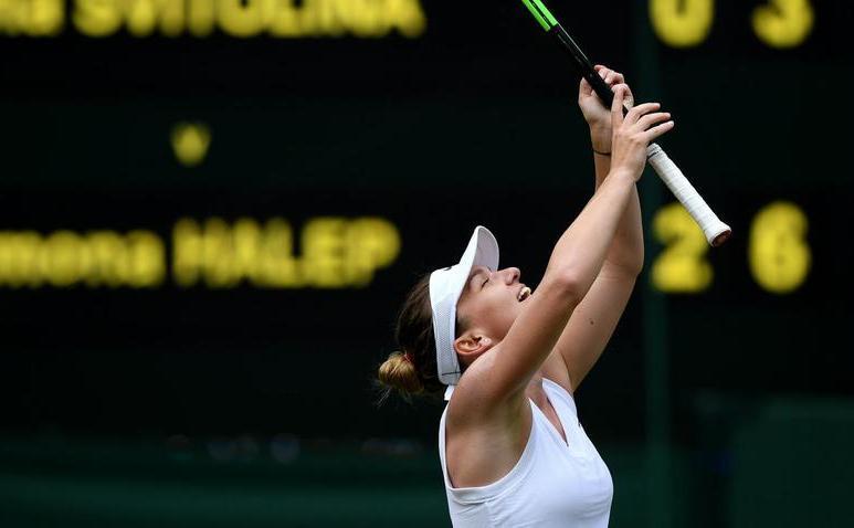 Jucătoarea română de tenis Simona Halep.