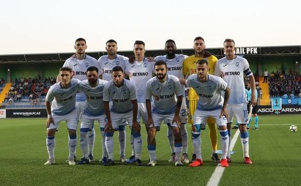 Echipa de fotbal Universitatea Craiova.
