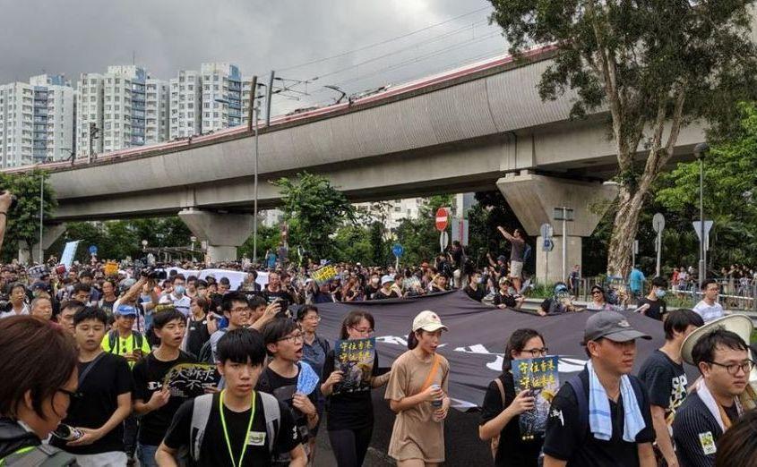 Protest în Hong Kong, 14 iulie 2019