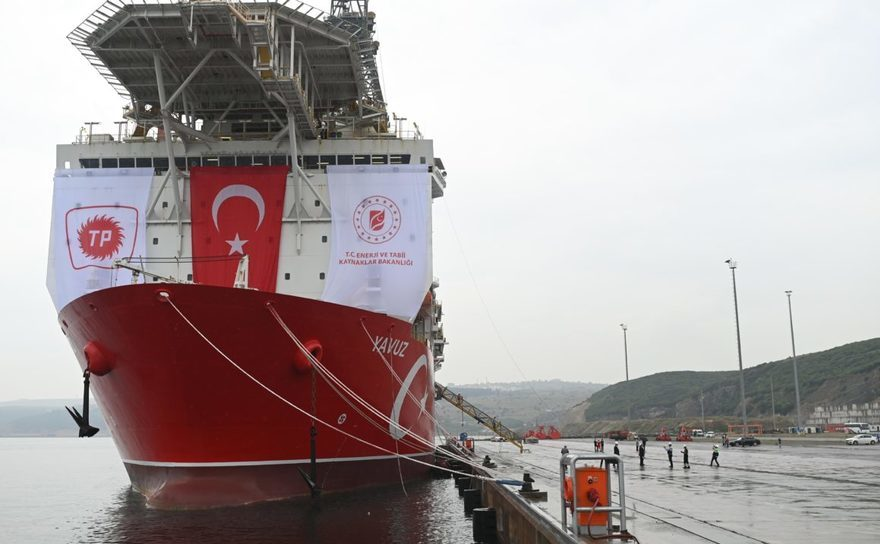 Nava turcească de foraj Yavuz