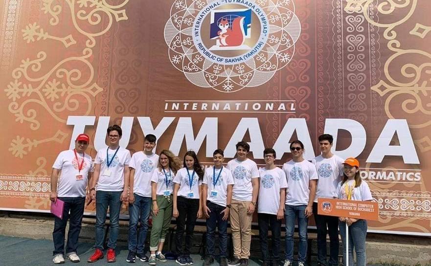 Elevi români premiaţi la Olimpiada Internationala Pluridisciplinară Tuymaada - Iakuţia