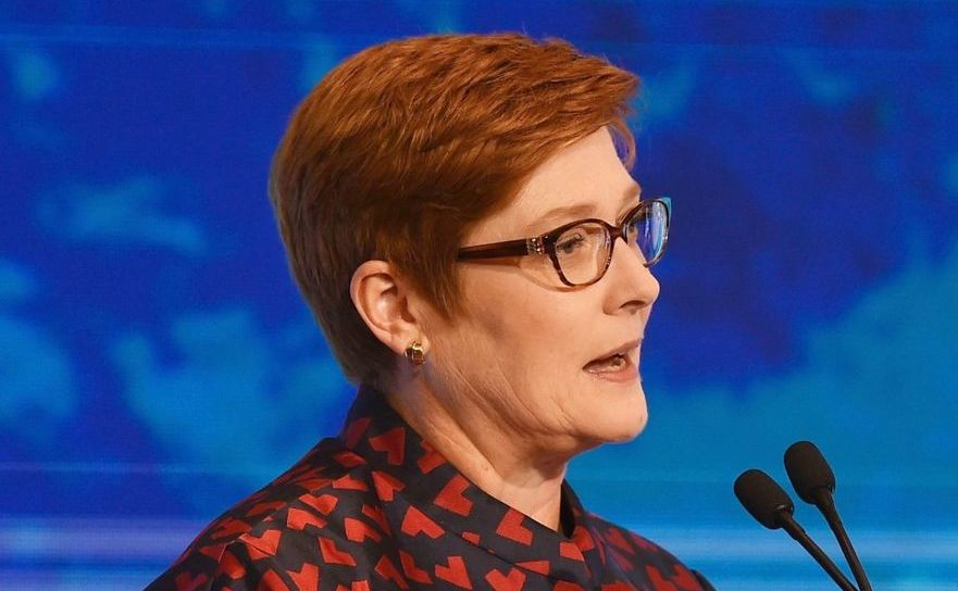 Ministrul australian de Externe, Marise Payne
