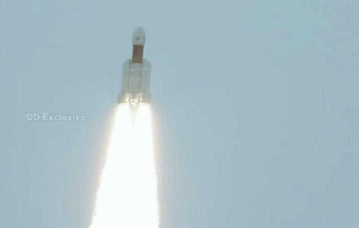 Lansarea misiunii indiene Chandrayaan-2