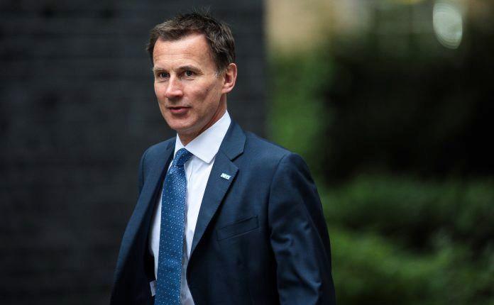 Ministrul britanic de Externe, Jeremy Hunt