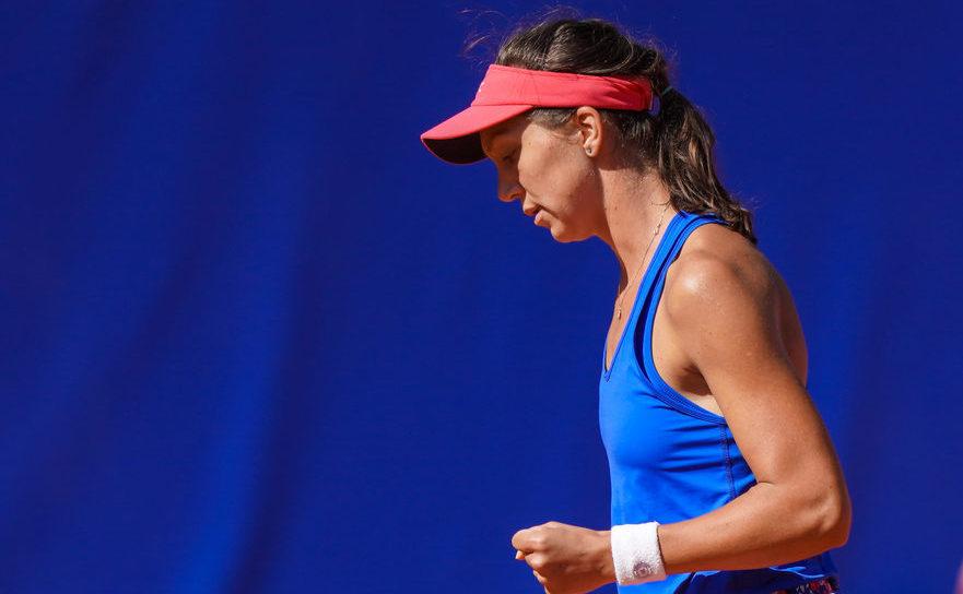 Jucătoarea română de tenis Patricia Maria Ţig.