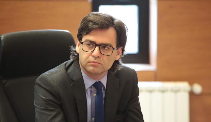 Nicu Popescu, ministrul Afacerilor Externe şi Integrării Europene al R. Moldova