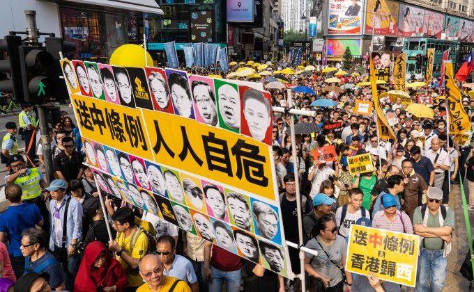 Proteste masive în Hong Kong, stârnite de introducerea unui pachet legislativ abuziv de către Beijingul comunist