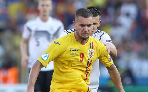 Internaţionalul român George Puşcaş.
