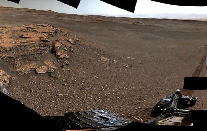 "Fotografie panoramică de ""Teal Ridge"""