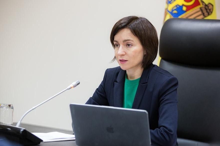 Maia Sandu, prim-ministrul RM