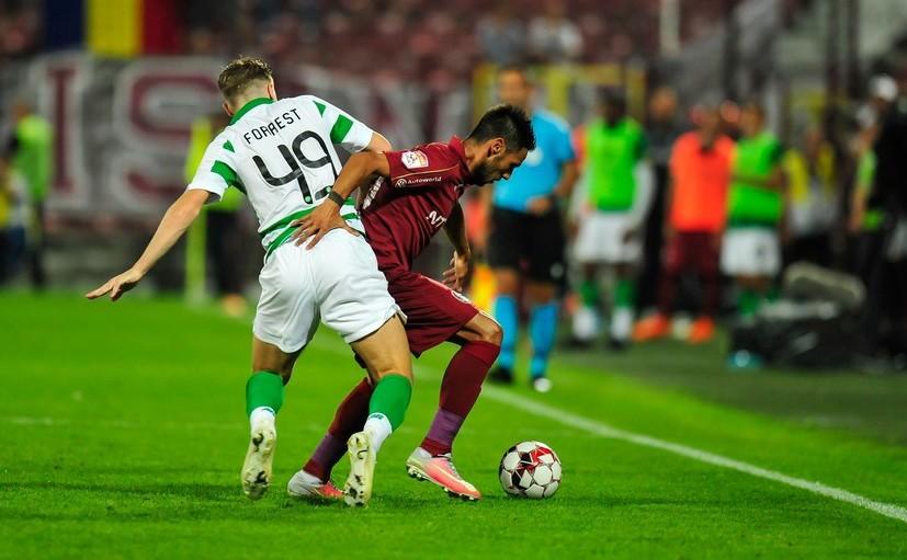 CFR Cluj - Celtic 1-1, în turul trei preliminar al UCL.