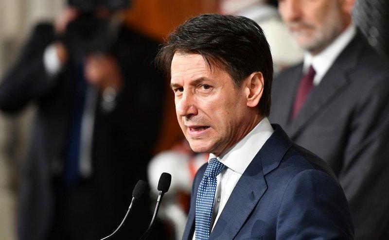 Premierul italian Giuseppe Conte