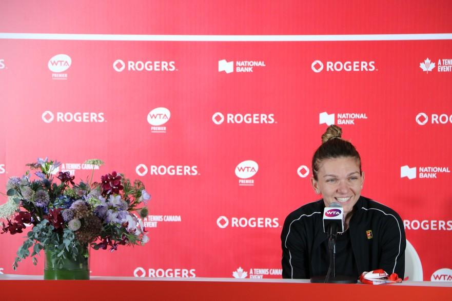 Simona Halep Rogers Cup 2019
