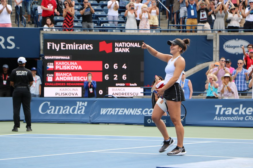 Bianca Andreescu Pliskova - Rogers Cup 2019