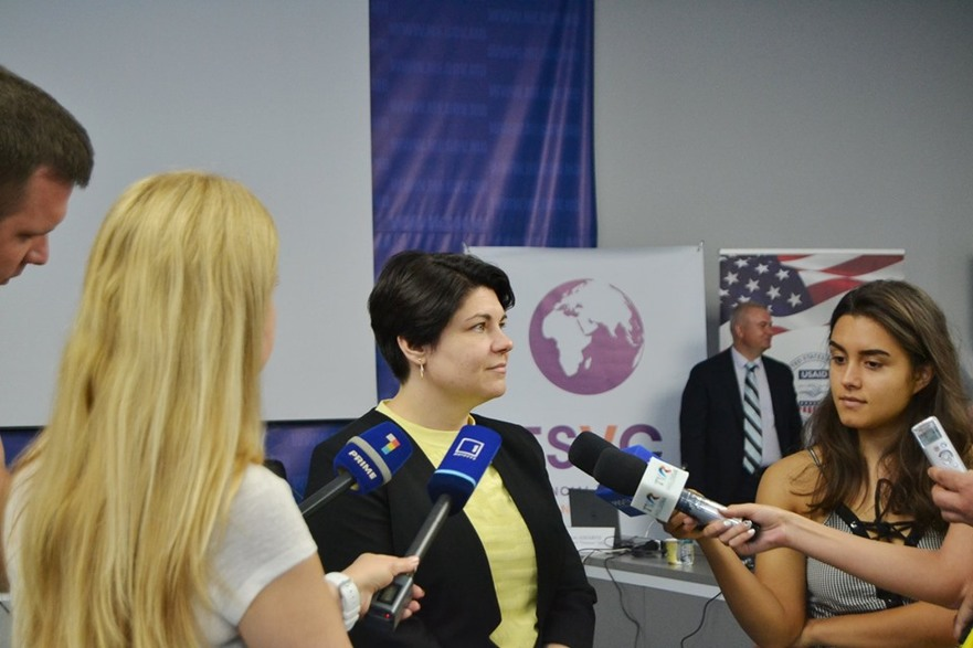 Natalia Gavriliţa, ministrul Finanţelor din R. Moldova
