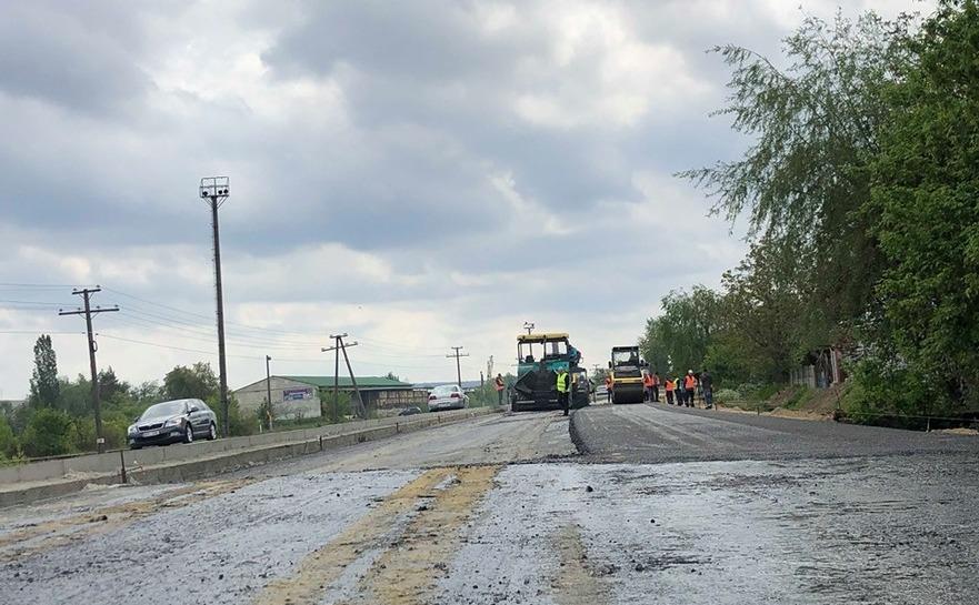 Construcţia drumului Chişinău-Ungheni-Sculeni