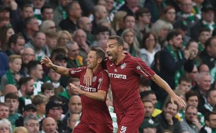 CFR Cluj - Celtic Glasgow 4-3 în preliminariile UCL.