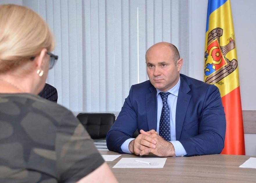 Pavel Voicu, ministru al Apărării al R. Moldova