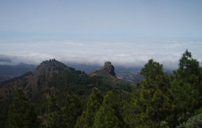 Vedere de pe Roque del Saucillo, Parque Natural de Tamadaba o Pinar de Tamadaba, Gran Canaria