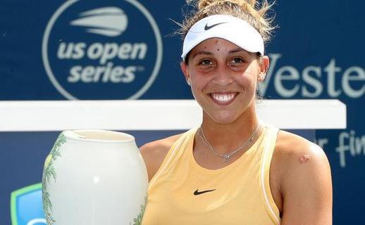 Jucătoarea americană de tenis Madison Keys.