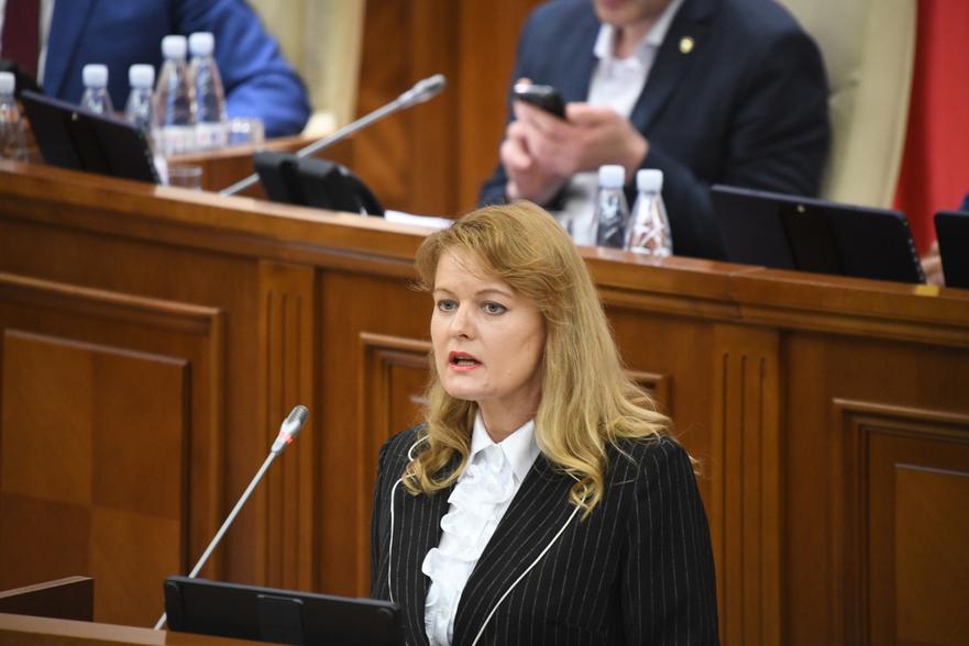Luiba Şova, judecător la Curtea Constituţională a Moldovei