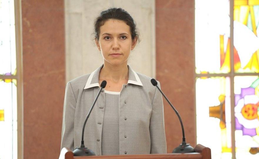Olesea Stamate, ministrul Justiţiei din R. Moldova