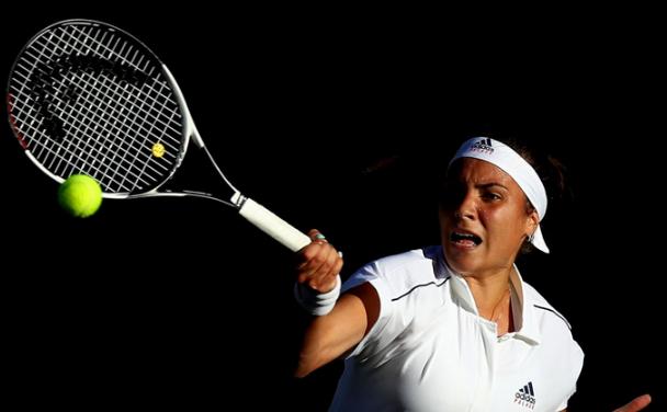 Jucătoarea română de tenis Gabriela Ruse.