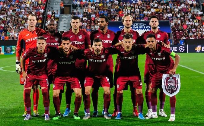 Echipa de fotbal CFR Cluj.