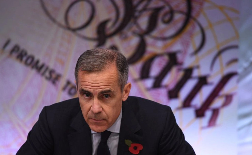 Mark Carney, guvernator Bank of England