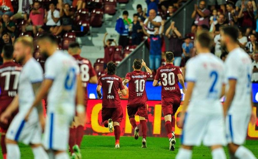Victorie la scor pentru campioni! CFR Cluj - FC Botoşani 4-1