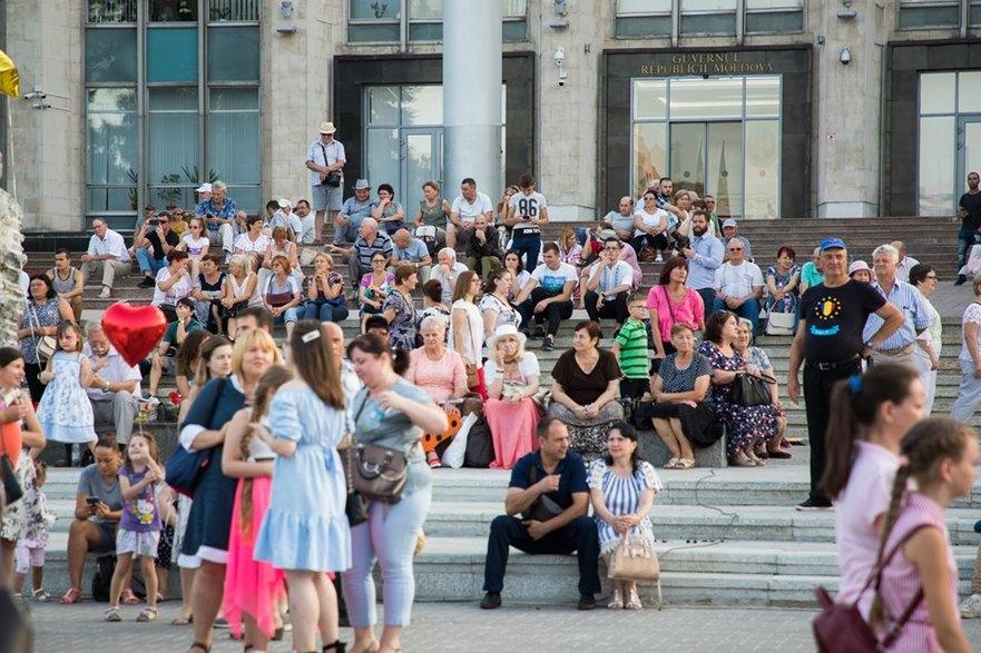 Cetăţeni din R. Moldova sărbătoresc Ziua Independenţei, 27.08.2019