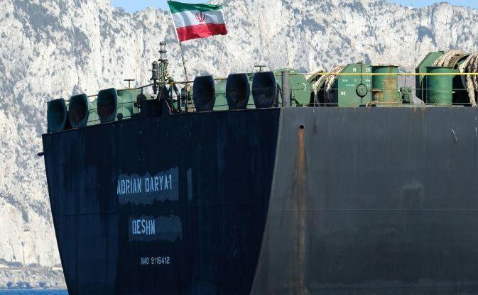 Steag iranian la bordul super-petrolierului Adrian Darya