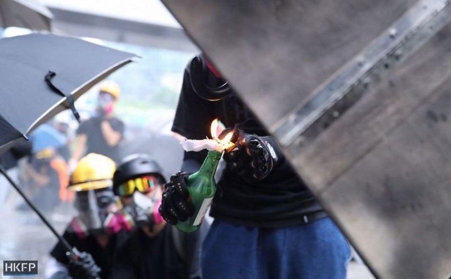 Haos pe străzile din Hong Kong, 31 august 2019