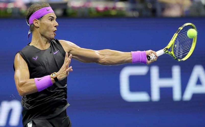 Tenismanul spaniol Rafael Nadal.