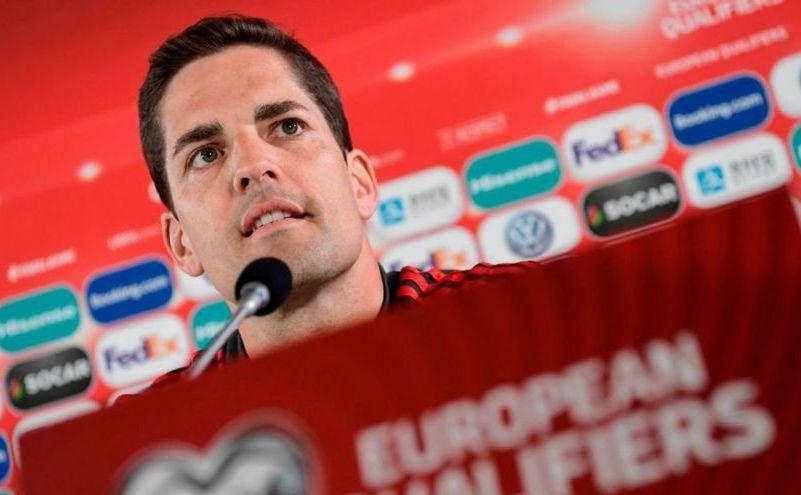 Selecţionerul echipei naţionale a Spaniei, Robert Moreno.