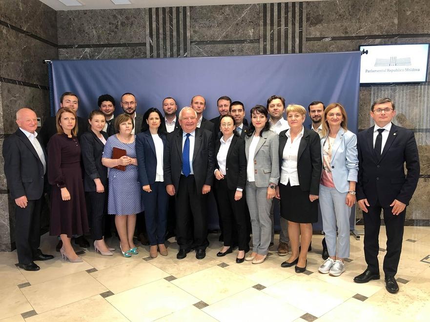 Joseph Daul la întrevederea cu deputaţii ACUM