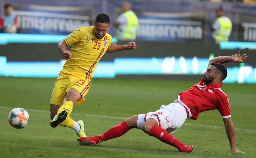 România - Malta 1-0, în preliminariile EURO 2020
