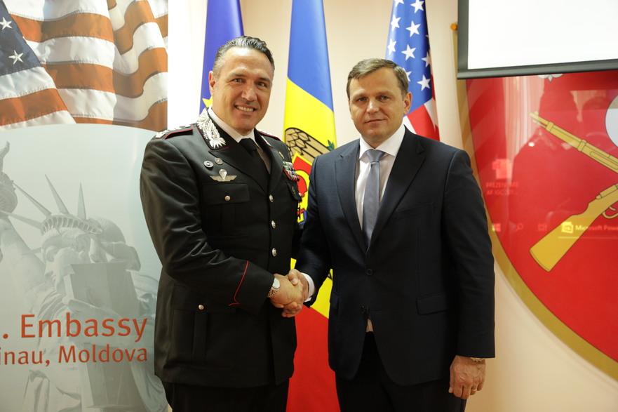 Andrei Năstase la evenimentul de lansare oficială a proiectului privind Analiza funcţională a Inspectoratului General de Carabinieri