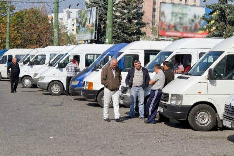 Protest al companiilor de transport în PMAN din Chişinău