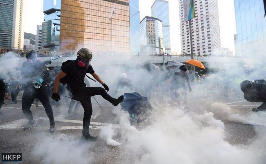 Noi proteste în Hong Kong
