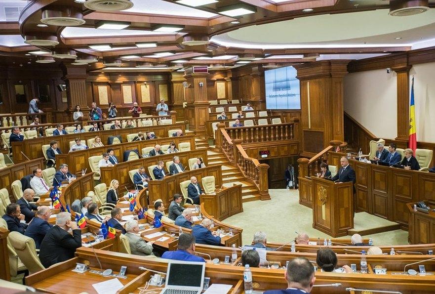 Igor Dodon, discurs în Parlamentul de la Chişinău, 16.09.2019