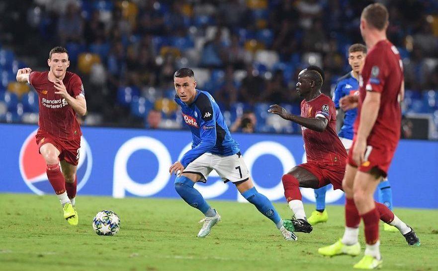 Liverpool - Napoli  2-0 în UCL.