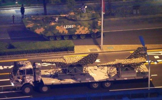 Transport de arme misterioase în Beijing