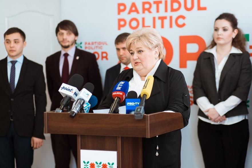 Reghina Apostolova, deputată al Partidului ŞOR