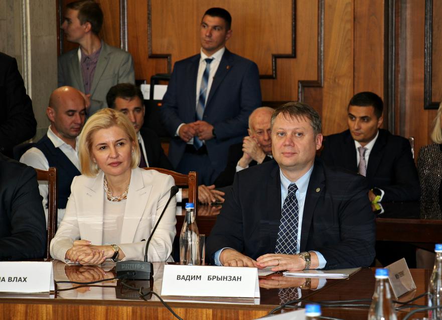 Vadim Brînzan la Forumului Economic moldo-rus